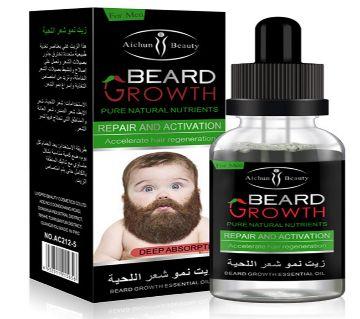 Beard Growth Oil  30ml Thailand