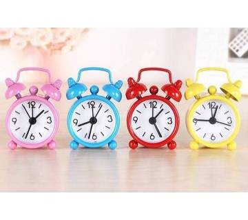 Mini Cute Portable Electronic Alarm Clock