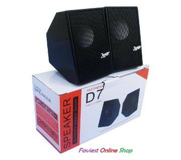 D7 mini USB 2.0 multimedia speaker