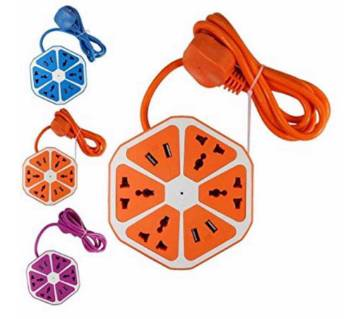 USB Hexagon multiplug Socket