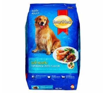 ADULT DOG FOOD-CHICKEN & LIVER -10Kg Thailpand