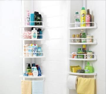 4 layer corner shelf.