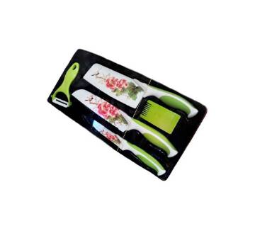 5 Pieces Kitchen Knife and Tool Set