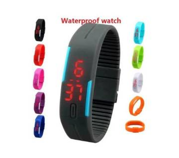 Led Waterproof Silicone Watch
