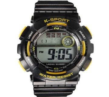 Lasika K-sports Watch (Black)
