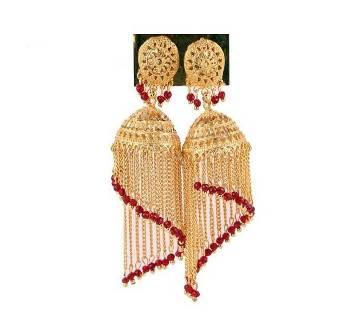 Indian Gold Plated Jumka Yarring