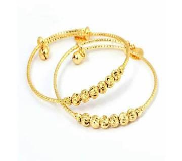 Gold Plated Bracelet-2 pcs