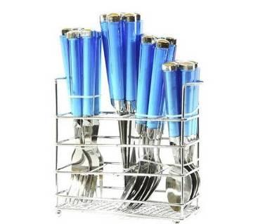 24 পিস স্পুন সেট - Blue