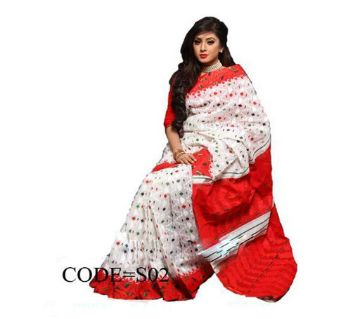 Boishakhi Hand Printed Cotton Sari