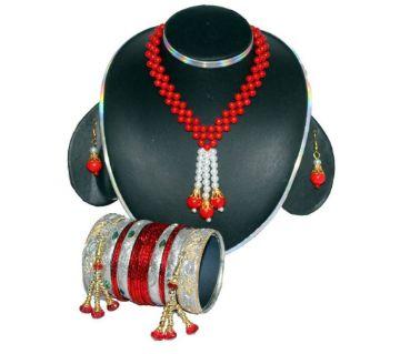 Artificial Pearl Jewelery Set
