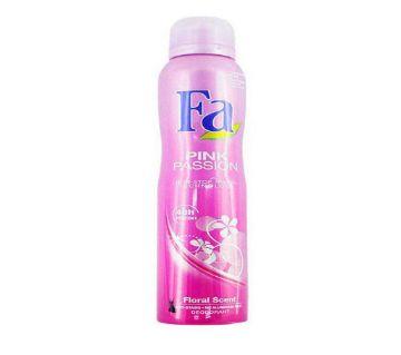 Branded body spray Fa PINK PASSION (200ml) U.A.E
