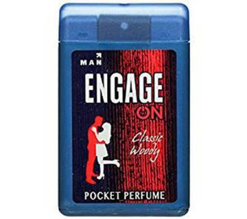 Engage on Classic woody perfumes for men 18 ml (India)