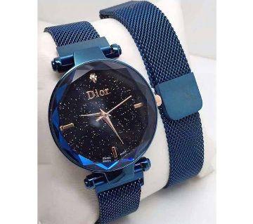 Dior Magnet Ladies Watch-Blue