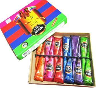 Neha fast colour cone হারব্লা মেহেদি 12 pcs BD