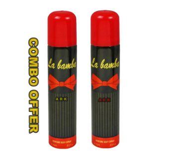 LA BAMBA body Spray Combo- 75 ml-UAE