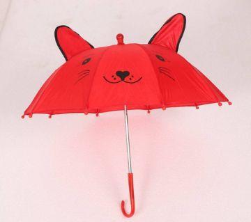 Cat Shaped Kids Umbrella
