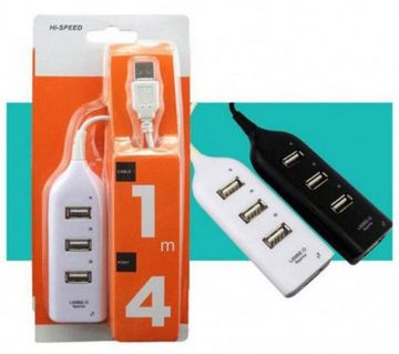 4-Porta USB 2.0 Hi-Speed Hub