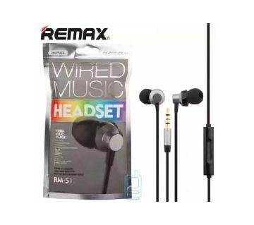 REMAX RM 512 WIRED Earphones REMAX