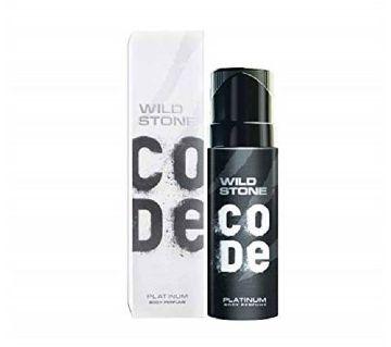 WILD STONE Code Platinum Body Perfume, 120ML - INDIA