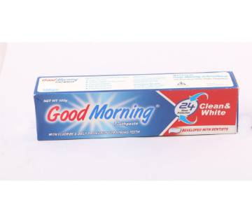 Good Morning Toothpaste (one pc Tooth Brush Free)