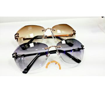 Rimless Ladies Sunglasses