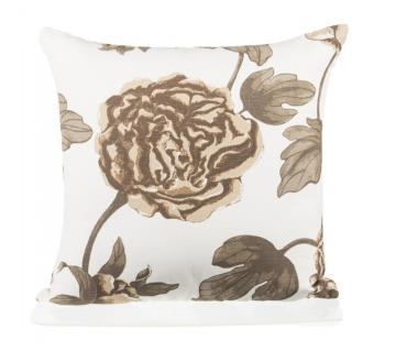 White Cream Beige Cushion Cover by Ivoryniche