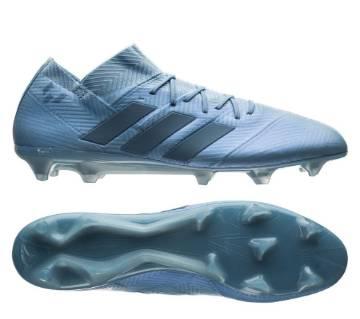adidas Nemeziz Messi 18.1 FG/AG Spectral মেনজ সকার শু- Blue/Gold Metallic (কপি)