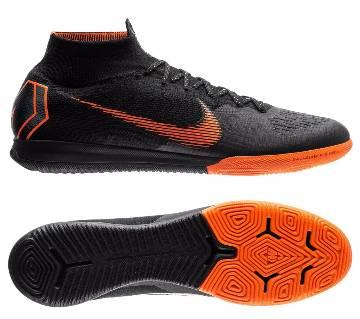 Nike Mercurial SuperflyX 6 Elite IC Soccer Shoes for men - Black/Total
