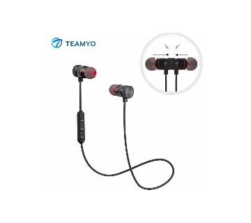 Metal Magnetic Sports Bluetooth Headset