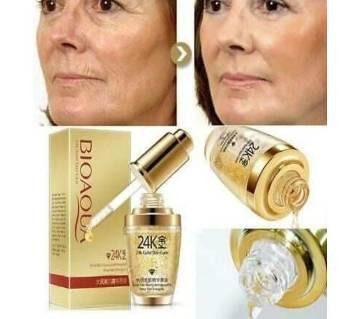 Bioaqua 24k Gold Skin Care Facial Serum-30ml-China