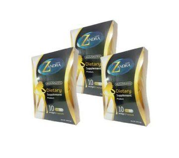 Zandra Dietary supplement product-10Pcs Capsule-Thailand