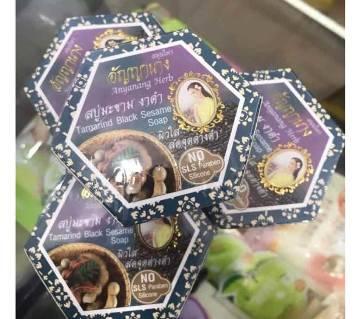 Tamarind Black Sesame Soap 60g-Thailand-1Pcs