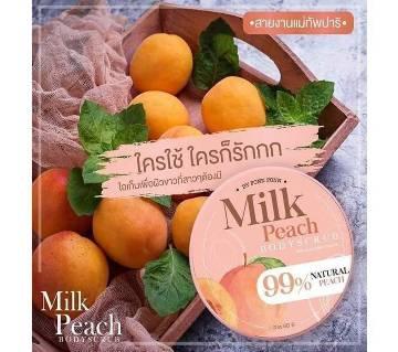 Milk Peach Body Scrub