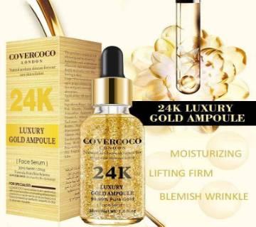 COVERCOCO_LONDON 24K Luxury Gold Ampoule - UK