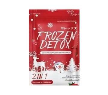 Frozen Detox 2 In 1 Slimming Capsule-60 capsule-Thailand