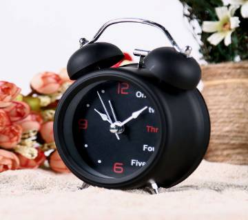 English digital Double Bell Alarm Clock