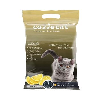 Coziecat Cat Litter Lemon 5KG-USA