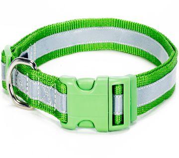 Reflective Pet Collar (Green