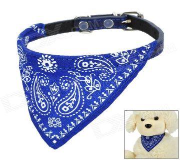 Bandana Pet Collar (Blue)