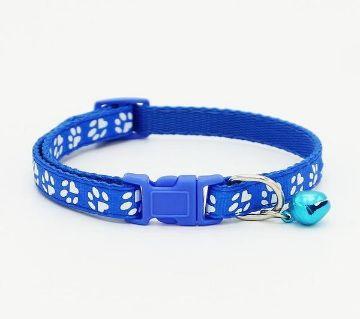 Paw Printed Pet Collar (Blue)