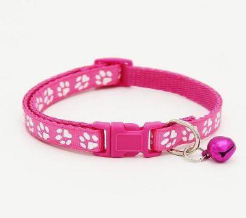 Paw Printed Pet Collar (Purple)