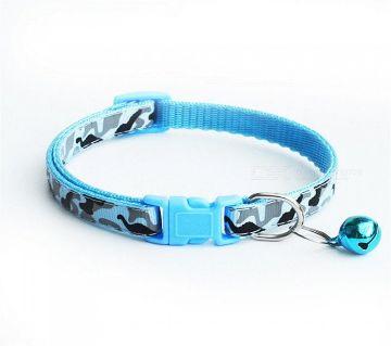 Camouflage Pet Collar (Blue)