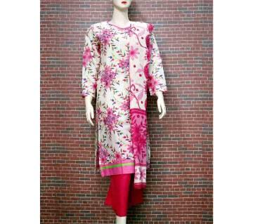Ready-made Textile Printed Salwar Kameez Three Piece