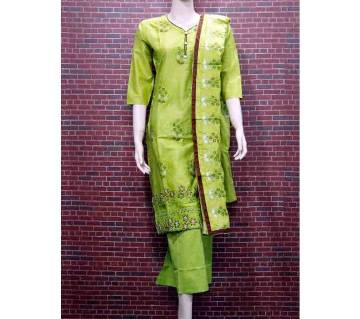 Readymade Textile Printed Full Sleeve Cotton Salwar Kameez For Woman