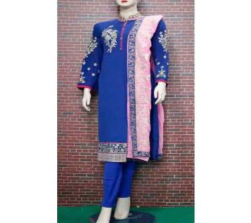Embroidery Printed Stylish Salwar Kameez For Woman