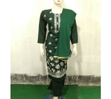 Readymade  Full Sleeve Textile Printed Cotton Salwar Kameez For Women