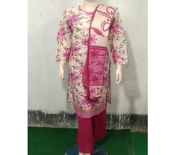 Readymade Textile Printed Salwar Kamiz Three Piece