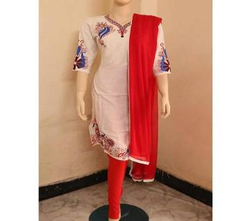 Embroidery Printed Soft Salwar Kamiz For Wemen