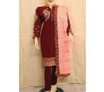 Embroidery Printed Stylish Salwar Kameez For Women