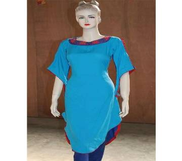 Embroidery Printed Simple & Casual Kurtis For Modern Women